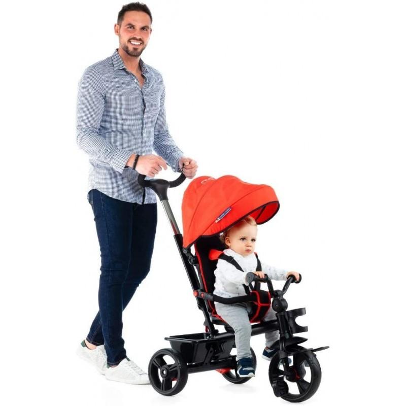 Triciclo Infantil Evolutivo Urban Trike Foldable City Molto