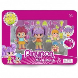 Pinypon- Pack 4 Figuras New...