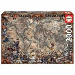PUZZLE 2000 PIEZAS MAPA DE...