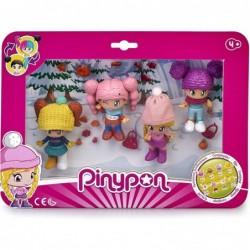 Pinypon- Pack 4 Figuras Nieve