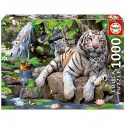 PUZZLE 1000 PIEZAS TIGRES...