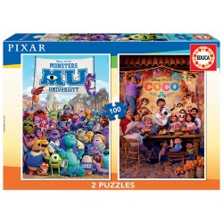 PUZZLE 2×100 DISNEY PIXAR