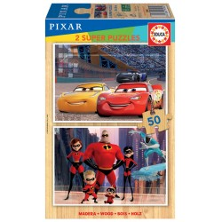 PUZZLE 2×50 DISNEY PIXAR