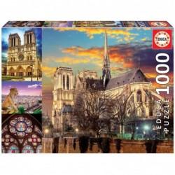 PUZZLE 1000  Collage Notre...