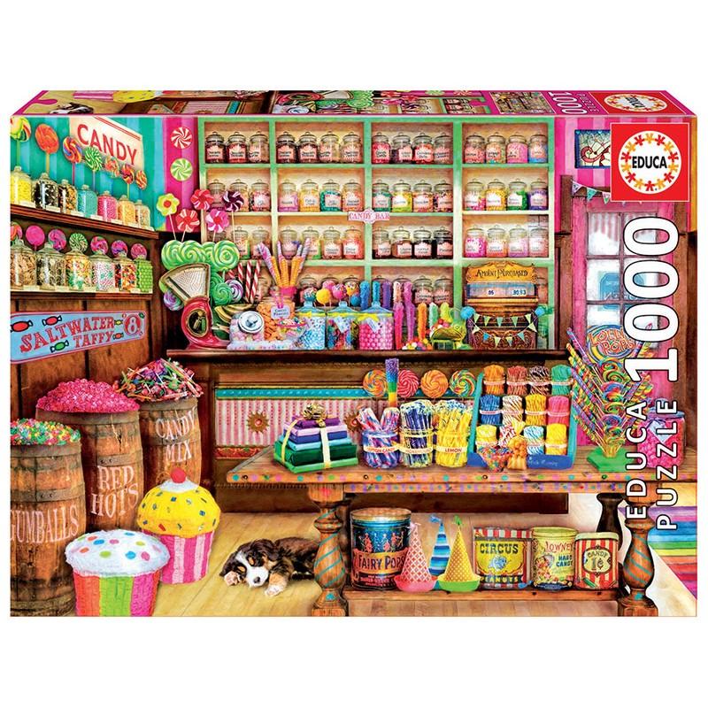 PUZZLE 1000 Tienda de dulces