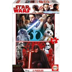 Star Wars- Puzzle Doble,...