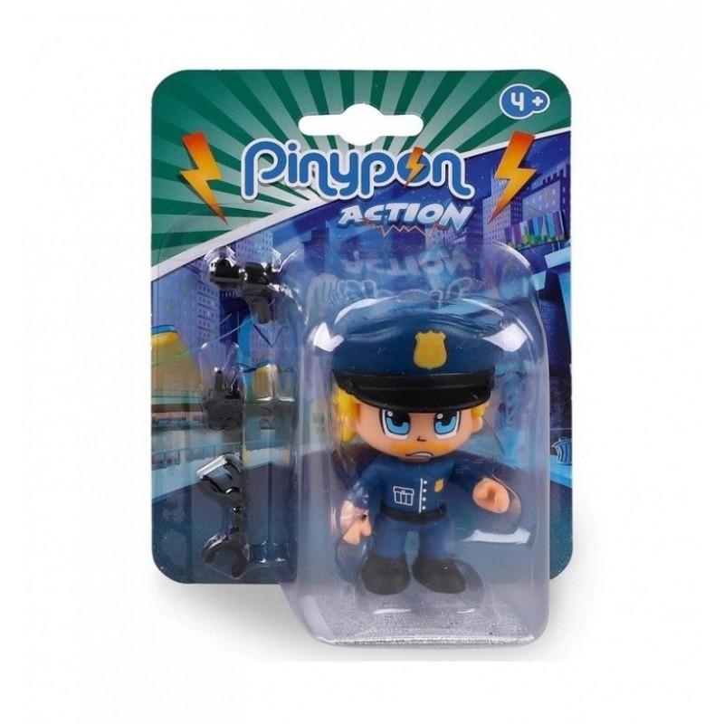PIN Y PON ACTION POLICIA