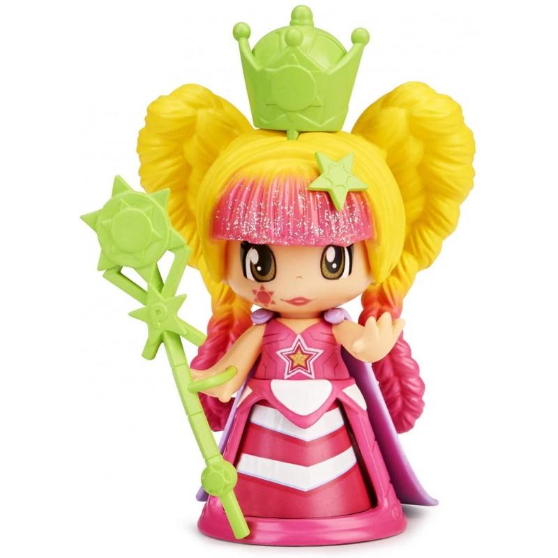 Pinypon - Queen Figura Luz Vestido Rosa