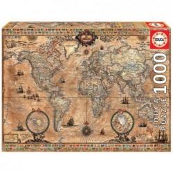 PUZZLE 1000  Mapamundi
